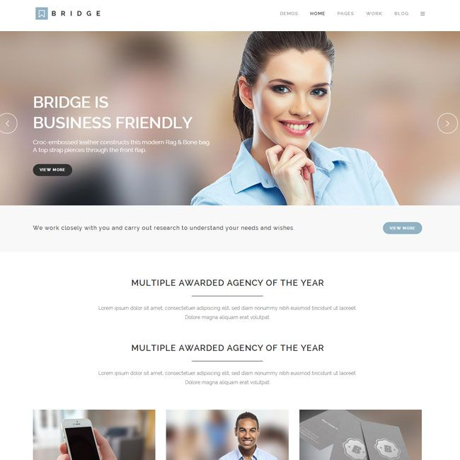 Bridge WordPress Theme for Creative Multi-Purpose Sites | Best WordPress Themes 2014