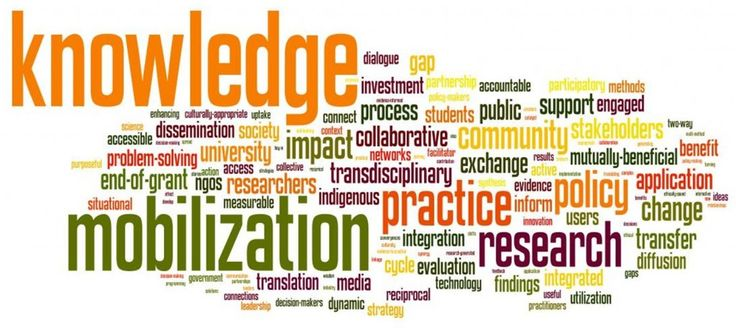 Knowledge | knowledge translation and exchange kte or knowledge mobilization kmb ...