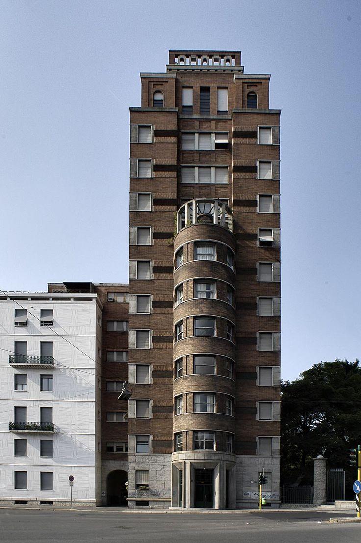 Lancia Ponti, torre Rasini, Milano