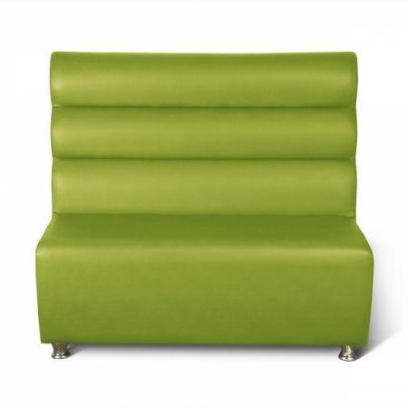 Sitzbank Dinerbank Bistrobank GALA grün 120 cm-Möbel-Star