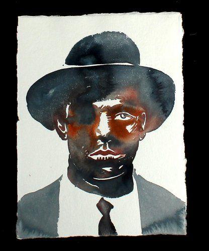 #NicolasVial - Portraits Chapeaux - Portrait Chapeau 18 - #GalerieW