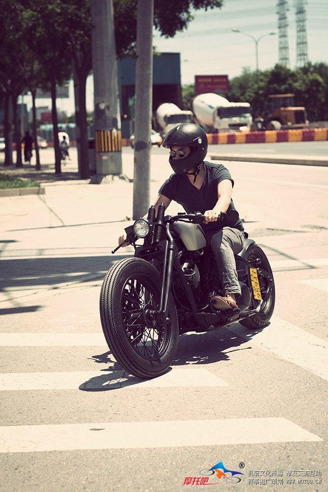 #riding #motorcycles #bobber #motos | caferacerpasion.com