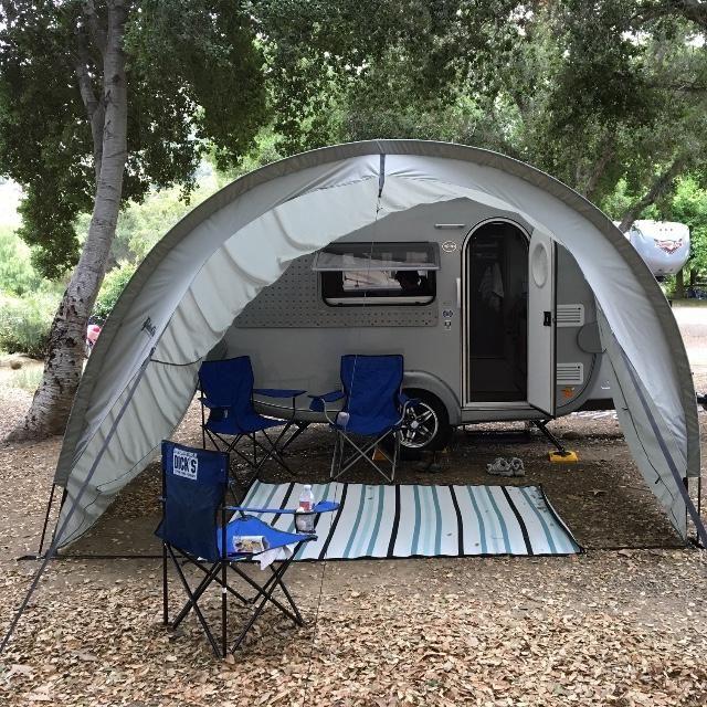 T@B 320 Awning | Teardrop camping, Caravan awnings, Small ...