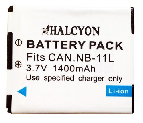 NB-11L Lithium Ion Replacement Battery for Canon Elph 115 HS, Elph 130 HS, Elph 320 HS, Elph 110 HS Canon PowerShot A2500, A2600, A2300, A2400 IS, A3400, A4000 IS, Canon Ixus 125 HS, 240 HS Digital Cameras