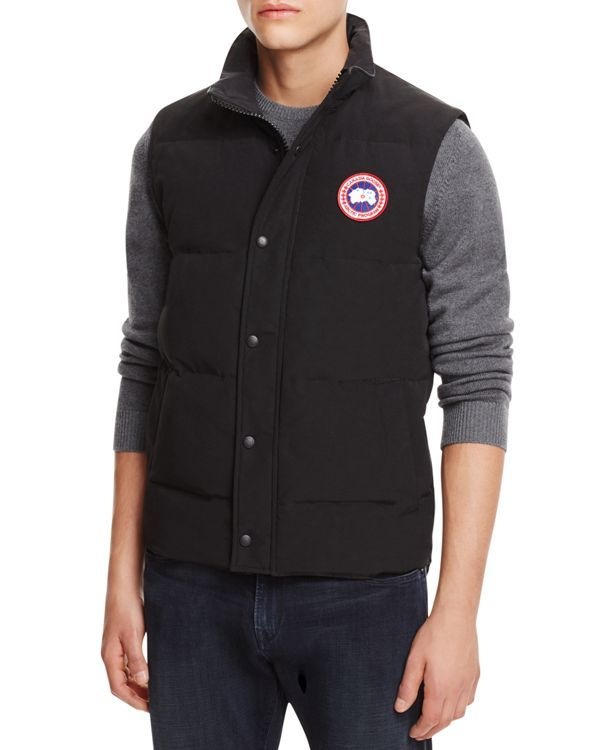 Canada Goose' Freestyle Down Vest - Men's Military Green, L