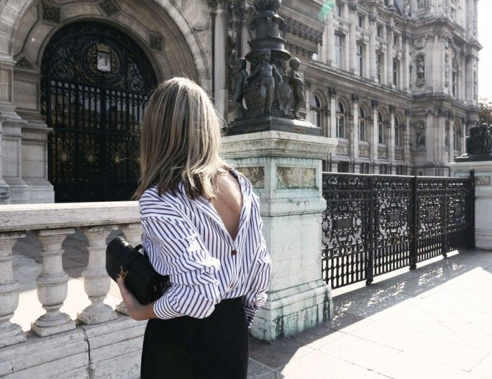 street-style-backwards-button-down-shirt 2: