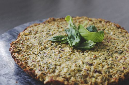 Baked Broccoli Pancake  #Rapid #Keto #Ketogenic #Glutenfree #RefinedSugarFree