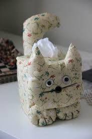 Resultat d'imatges de funda pañuelos papel patchwork