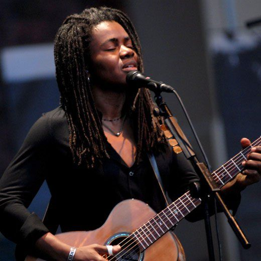 Tracy Chapman Tracy Chapman is up there with the many a great singer songwriter, but unlike many of those she infuses her music with a hard won world weary soulfulness. Her self titled debut album has sold 20 million copies worldwide, and remains her best work. It's an incongruous mix of love songs and politically charged tracks like 'Talkin' Bout a Revoluion' and 'Across the Lines', which illustrates Chapman's multifarious talents.