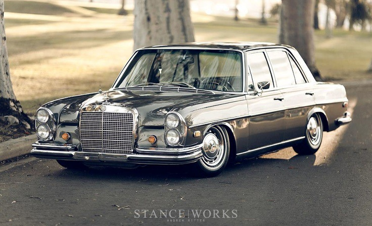 old school mercedes benz the garage pinterest old