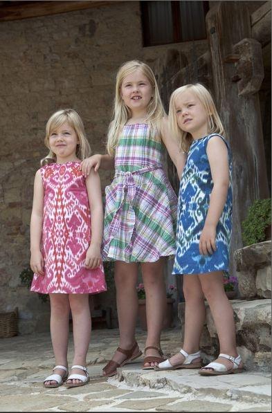 Princess Alexia, Princess Amalia and Princess Ariane of the Netherlands