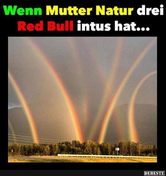 Wenn Mutter Natur drei Red Bull intus hat.. | Lustige Bilder, Sprüche, Witze, echt lustig