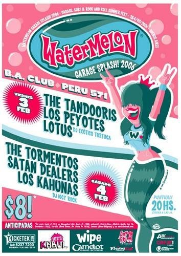 The Tandooris ☠ Watermelon Splash 2006