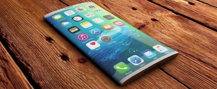 360 Derece Kavisli Ekrana Sahip iPhone!