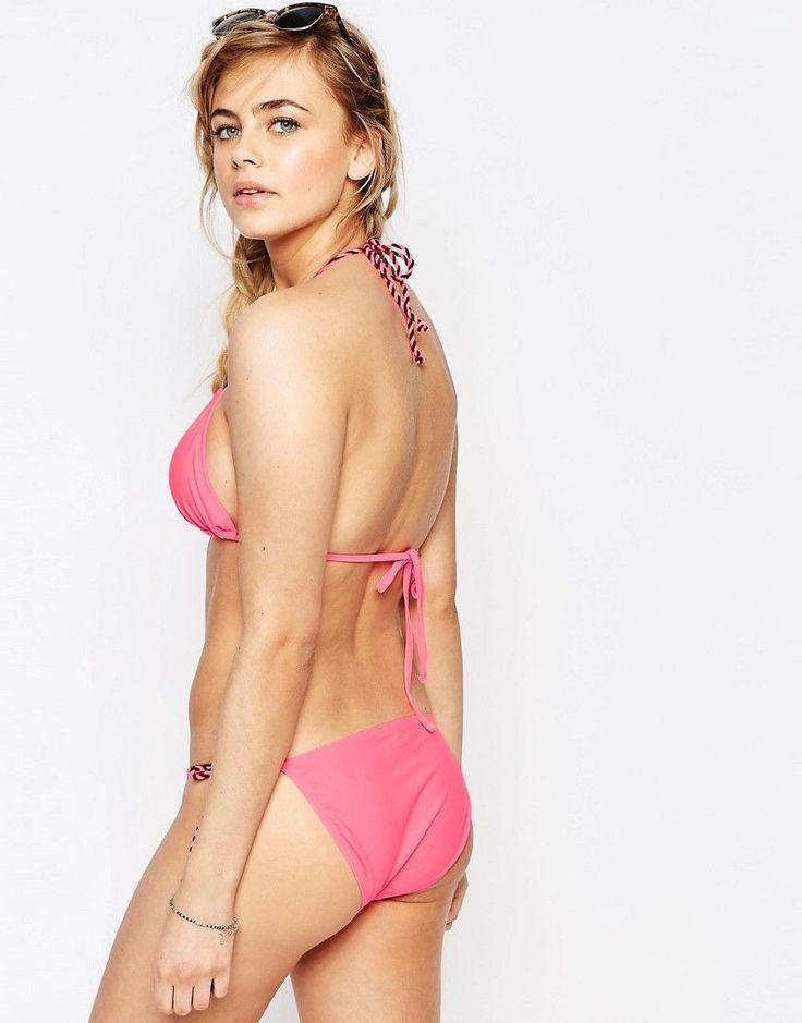 Oasis Pink Bikini Bottom - Orange