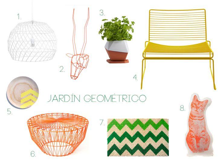 14 best nuestros estilo de images on pinterest for Jardin geometrico