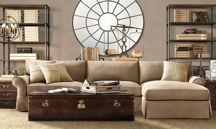 Rooms restoration hardware palladian mirror space pinterest shelves hardware and - Small spaces restoration hardware set ...