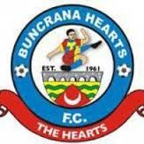 BUNCRANA HEARTS football club  - BUNCRANA ireland