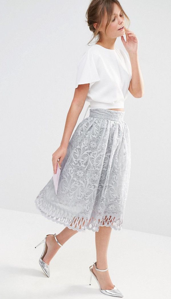 Faldas para bodas, descubre los mejores modelos verano 2016