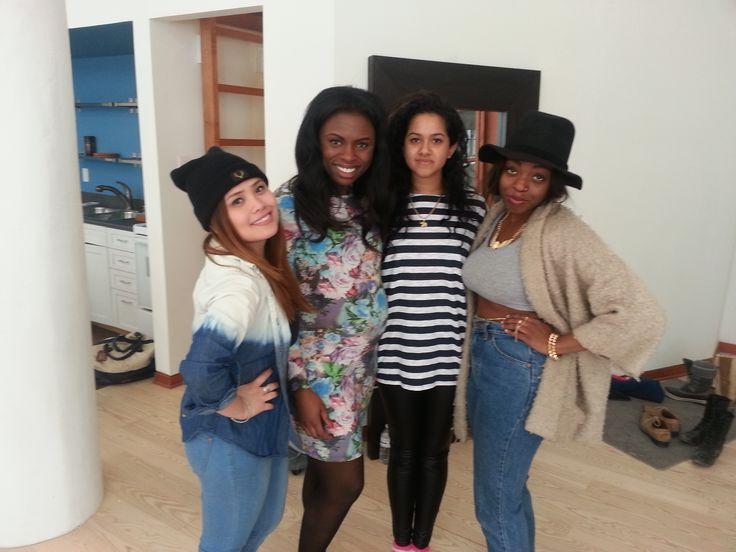 The Team 2014 !  Hanna, Catherine, Nakita & Krystal !