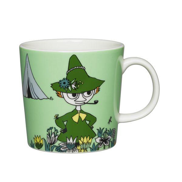 Moomin Mug – Snufkin, Green | The Moomin Shop