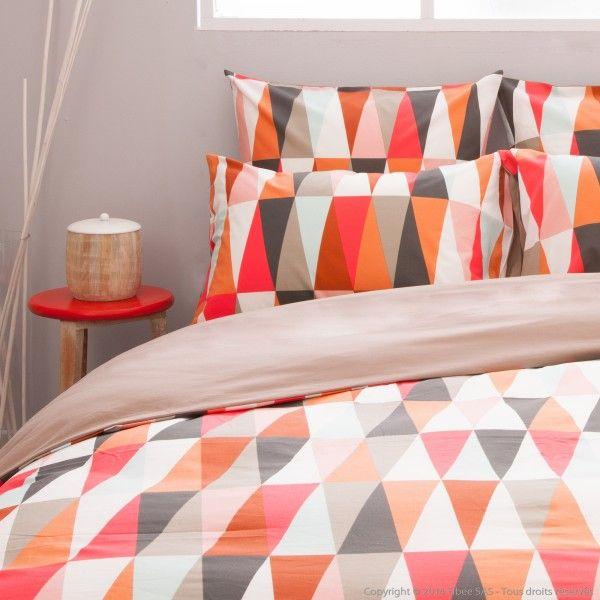 perfect housse de couette with housse de couette sans repassage. Black Bedroom Furniture Sets. Home Design Ideas