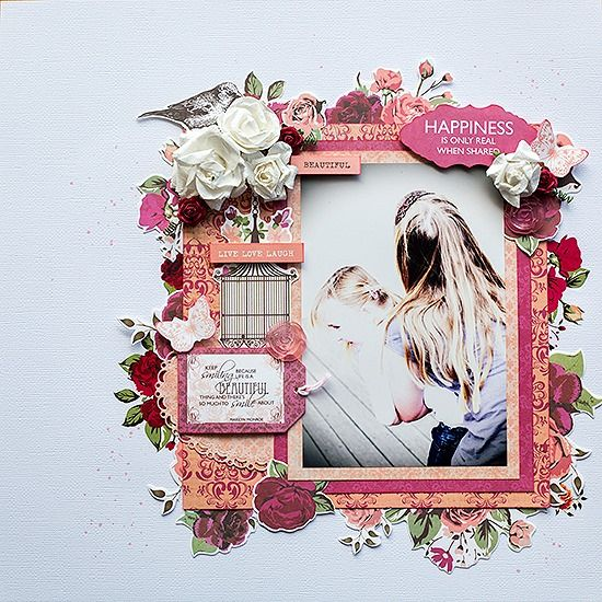 Kaisercraft - Lady Rose - Susan Longman - November Sketch Challenge 2013 « Anna's Craft Cupboard
