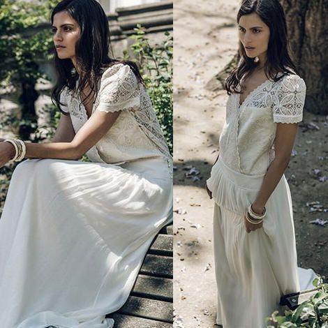 Robe de mariée Genet  - Collection Mariage 2016 Laure de Sagazan