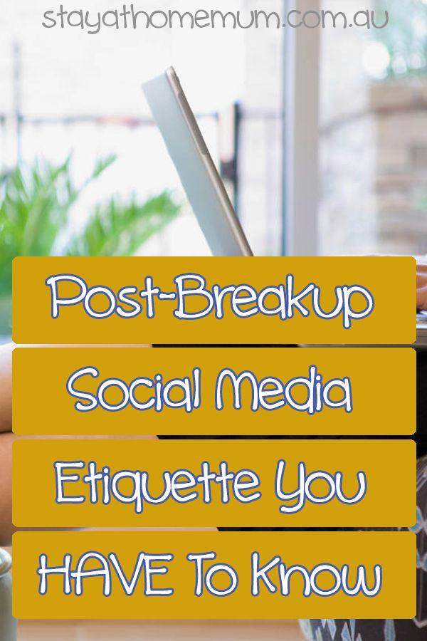 Break up etiquette