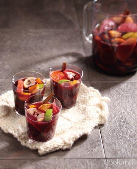 따뜻한 와인 뱅쇼