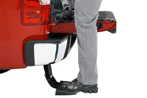 Read reviews and shop online today. AMP Research BedStep Retractable Tailgate Step in stock now! Call our product experts at 800-544-8778.