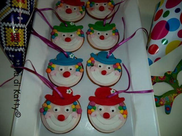 Katty's cakes - Le torte di Katty : Biscotti di Carnevale mascherine e pagliacci
