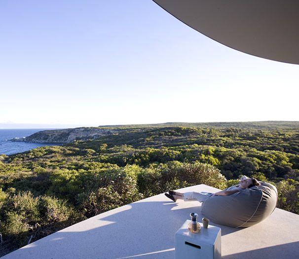 The beautiful Southern Ocean Lodge spa featuring LI'TYA