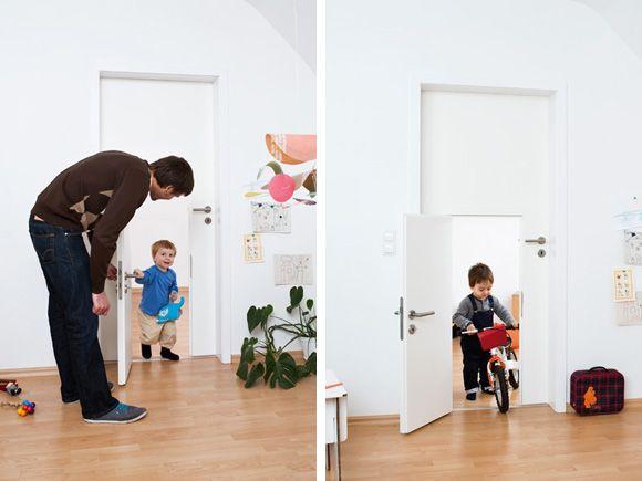 10 idei de decor creativ pentru usa din camera copilului