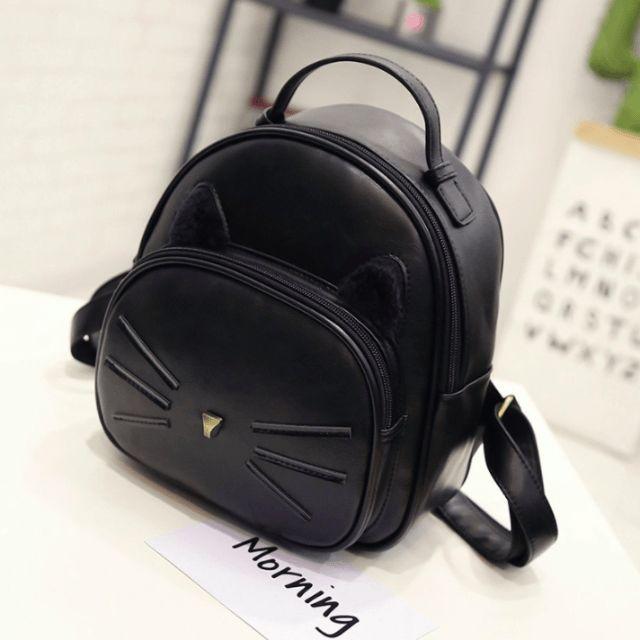 Kawaii Cat Ear Backpack - Available in 4 Colors kawaii backpack | kawaii backpack schools | kawaii backpack diy | kawaii backpack pastel goth | kawaii backpacks for school | Kawaii Backpacks | kawaii backpack | Kawaii Backpacks, Bags, Purses and Wallets! |