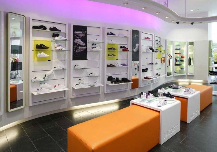 Sports Store   Retail Design   Shop Interior   Sports Display   Retail Design and Store Development Discipline - Design4Retail - Lacoste