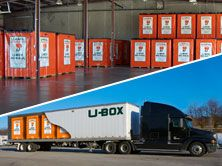 U-Box® containers are stored in a secure warehouse. When you're ready for re-delivery just let us know or rent a U-Box trailer and pick them up. I Storage Ideas