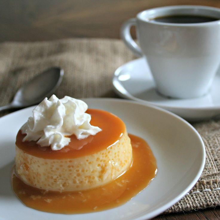 Slow Cooker Caramel Flan! I love this dessert at mexican restaurants!