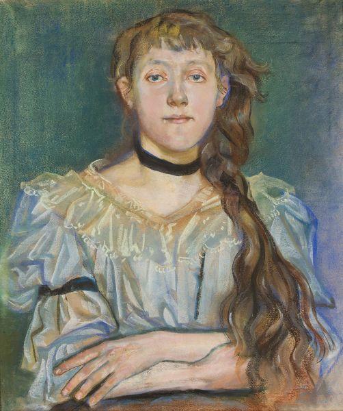 Portret Marii Waśkowskiej - Stanisław Wyspiański