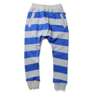 PRE ORDER Minti Bronx Trackie Blue/Grey stripe