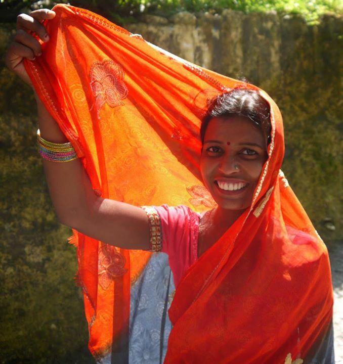 #people #colors #orange #smile #India #wonder ©Giorgia Pezzoni