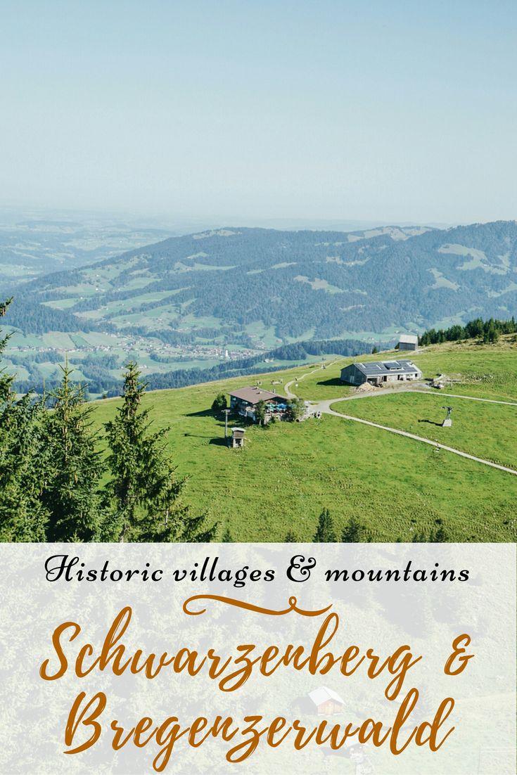 A visual tour through a picturesque village