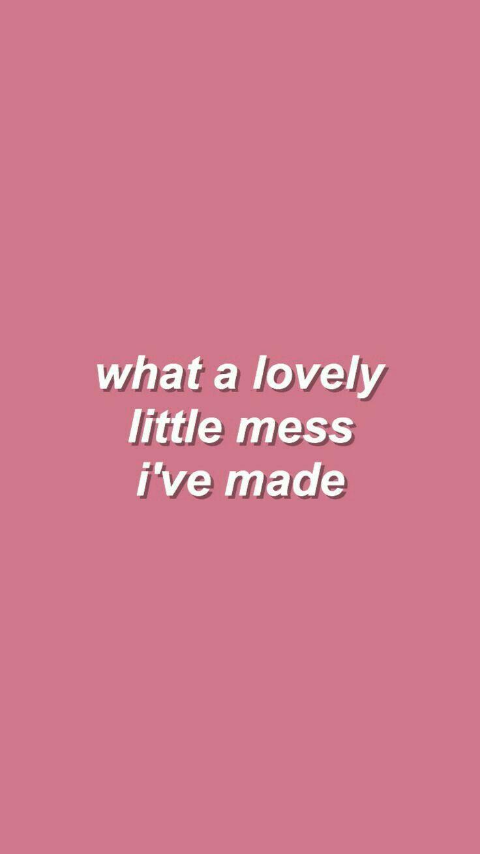 Aw, my cute little mess. :>