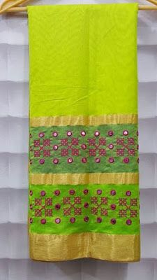 Designer french Knot Saree With embroidery work | Buy Online Sarees | Elegant…