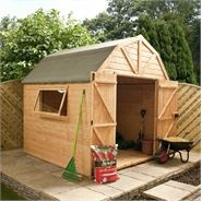 Buy Wooden Sheds, Timber Sheds Online from Waltons Garden Buildingsdutch barn shed
