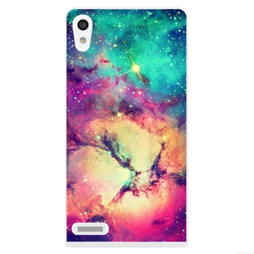 GALAXY EXPLODES - HARD CASE / TPU - HUAWEI ASCEND P6 HOESJE