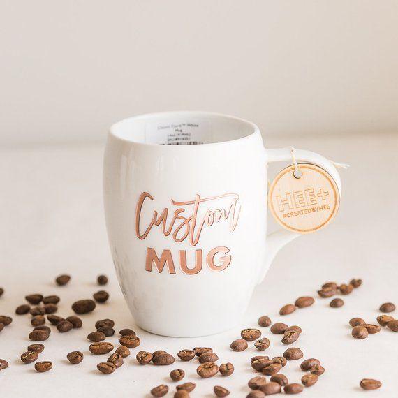 custom engraved coffee mug