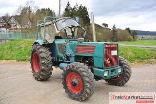 Traktor Schlepper Hanomag Brillant 701 A Allrad + Druckluft + Brief