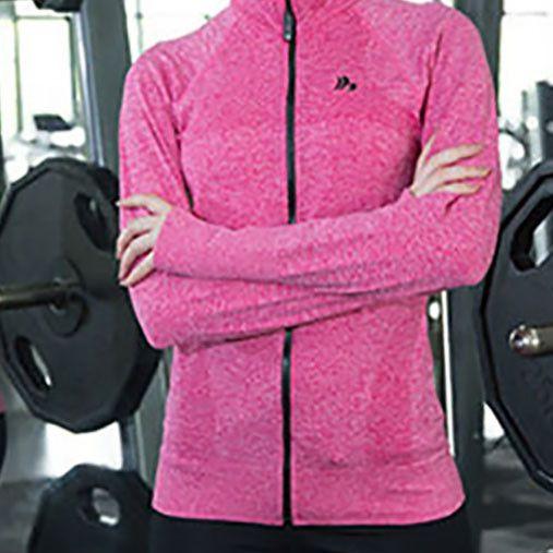B.BANG Women Sports Running Jackets Sport Coats Zipper Sportswear With Thumb Clothes Running Fitness Outerwear