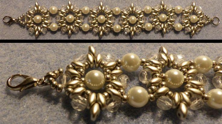 [Anleitung/Tutorial] Armband aus ovalen Elementen - DIY [Perlen]